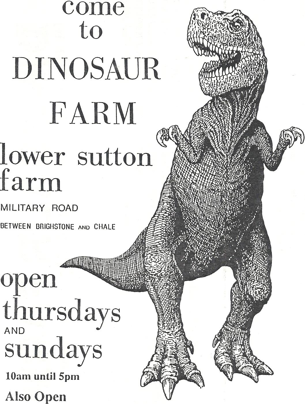 Dinosaur Farm Logo 1993