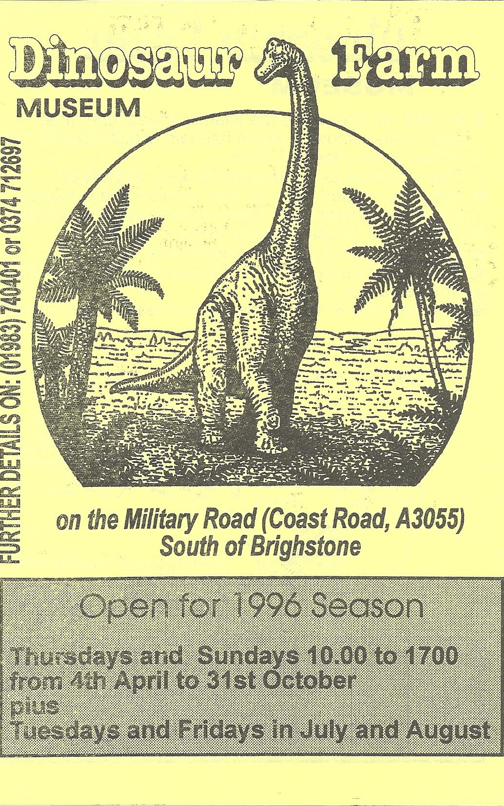 Dinosaur Farm Logo 1996