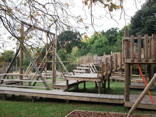 Adventure Playground and Adjacent Playroom