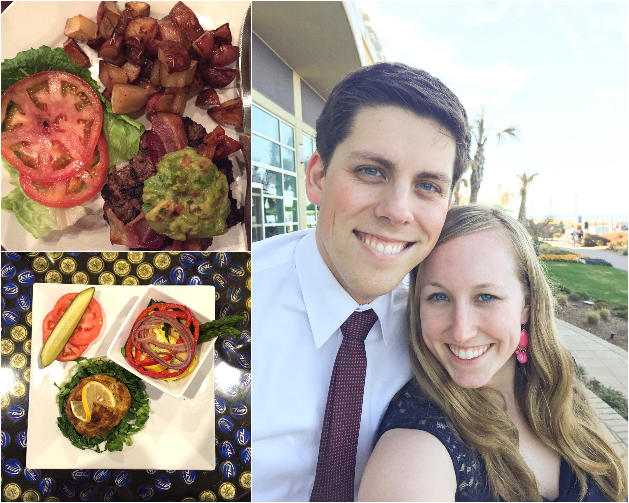Week 3 we shot a wedding in VA Beach and I planned ahead! I brought a cooler with hard boiled eggs, water bottles, homemade salad dressing, fruit, and veggies. When we went out to eat, I ordered a burger with no bun or cheese and it was delicious!