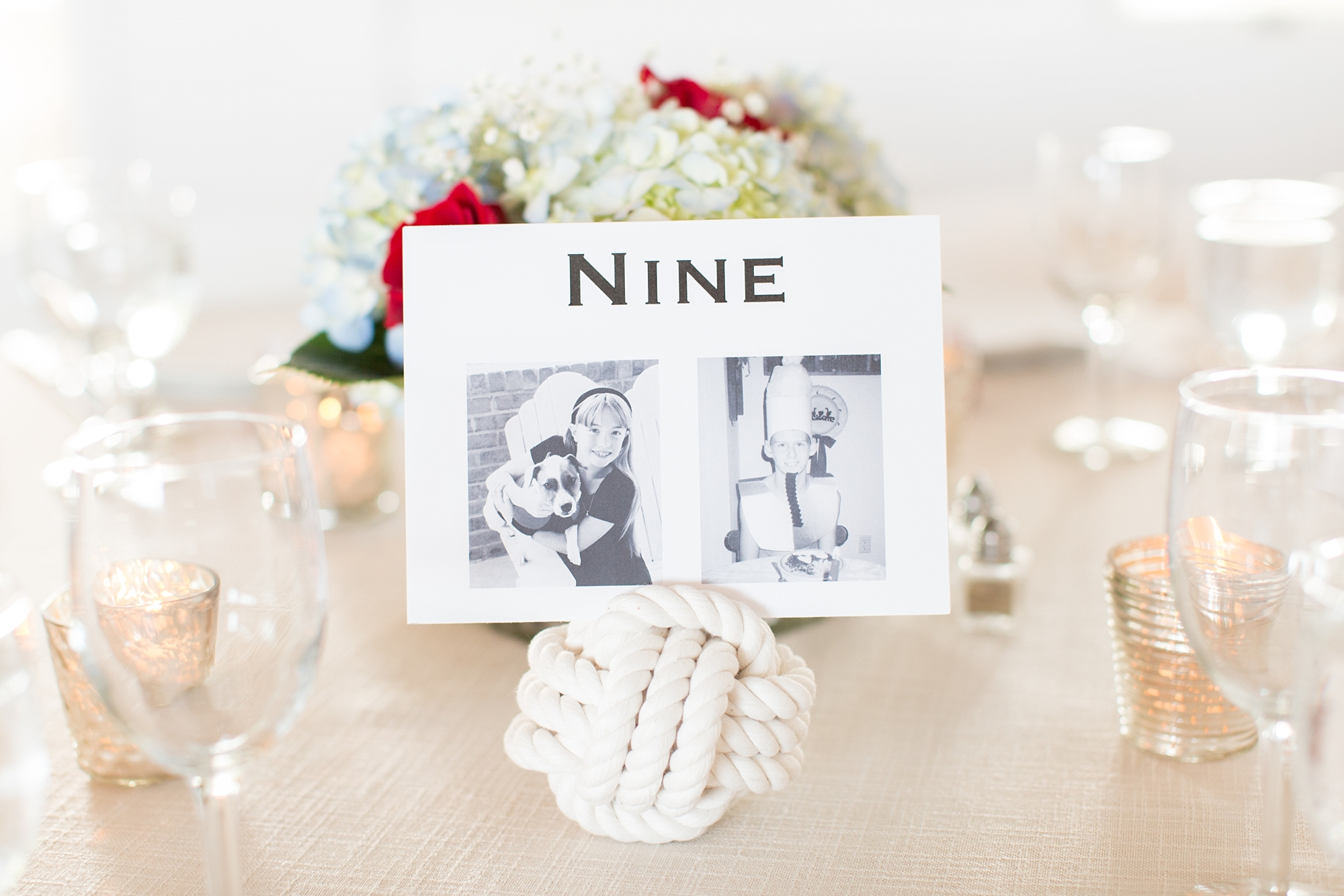 I love everything about this nautical wedding.