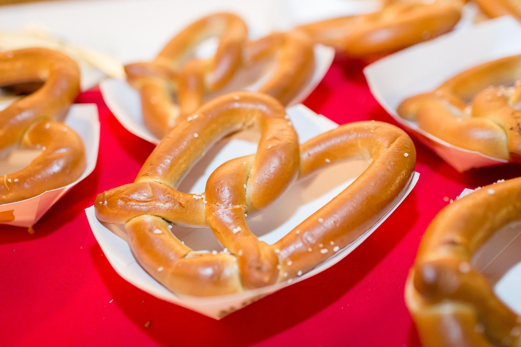 Late night pretzel sanck. Love it!