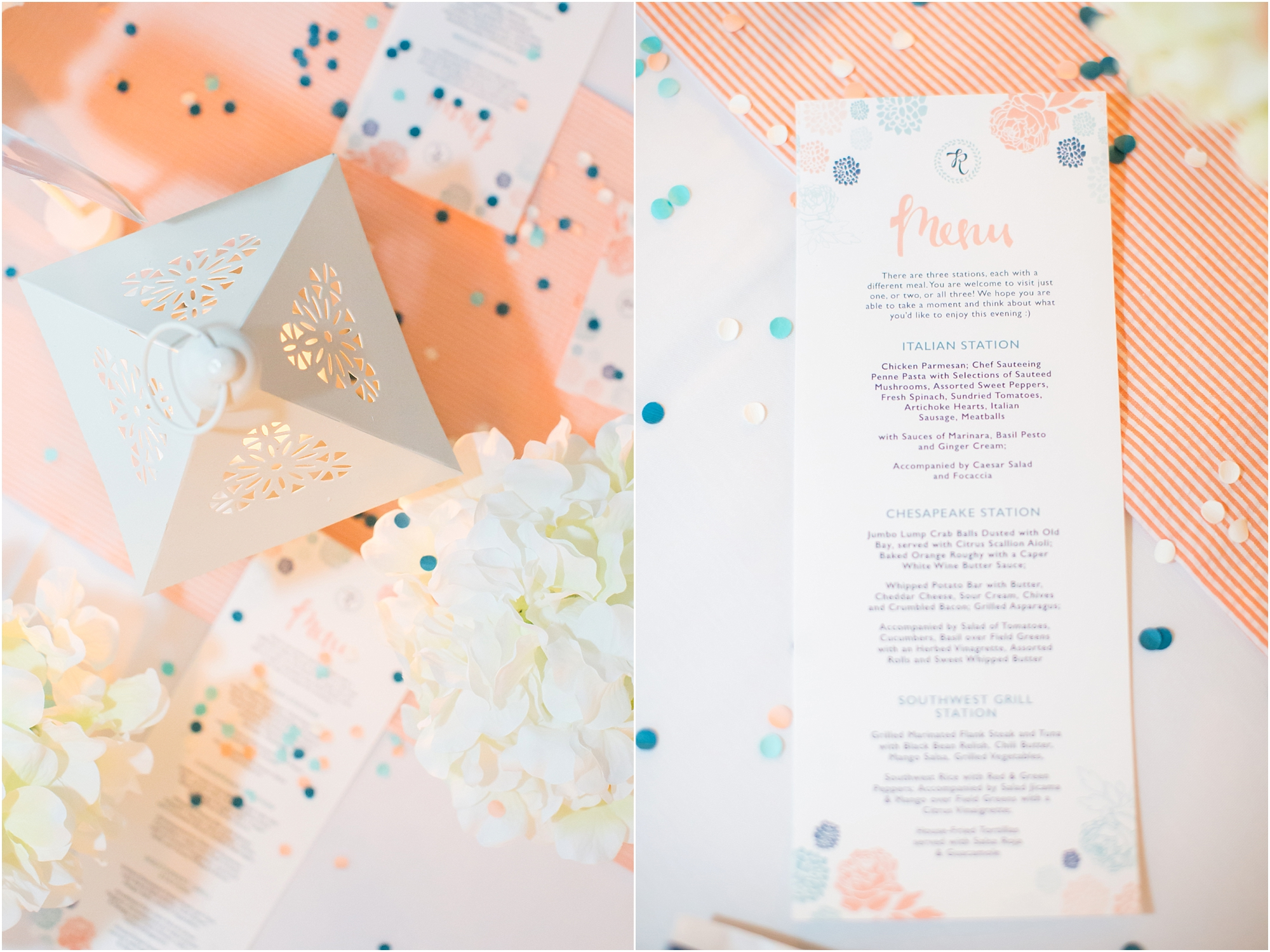 Love these reception designs by Emily!