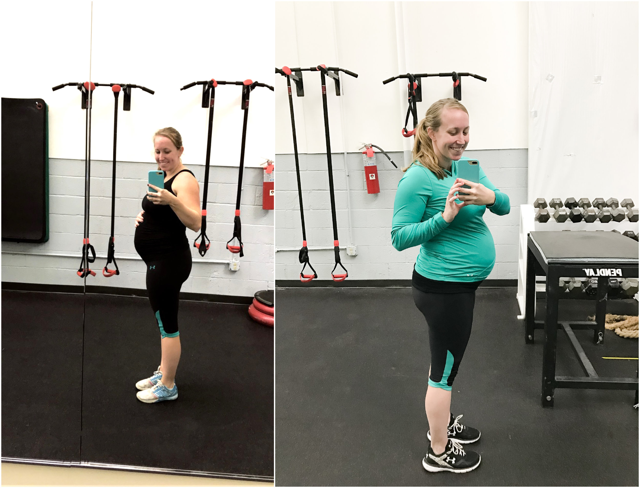 CrossFit + Pregnancy — Anna Grace Photography