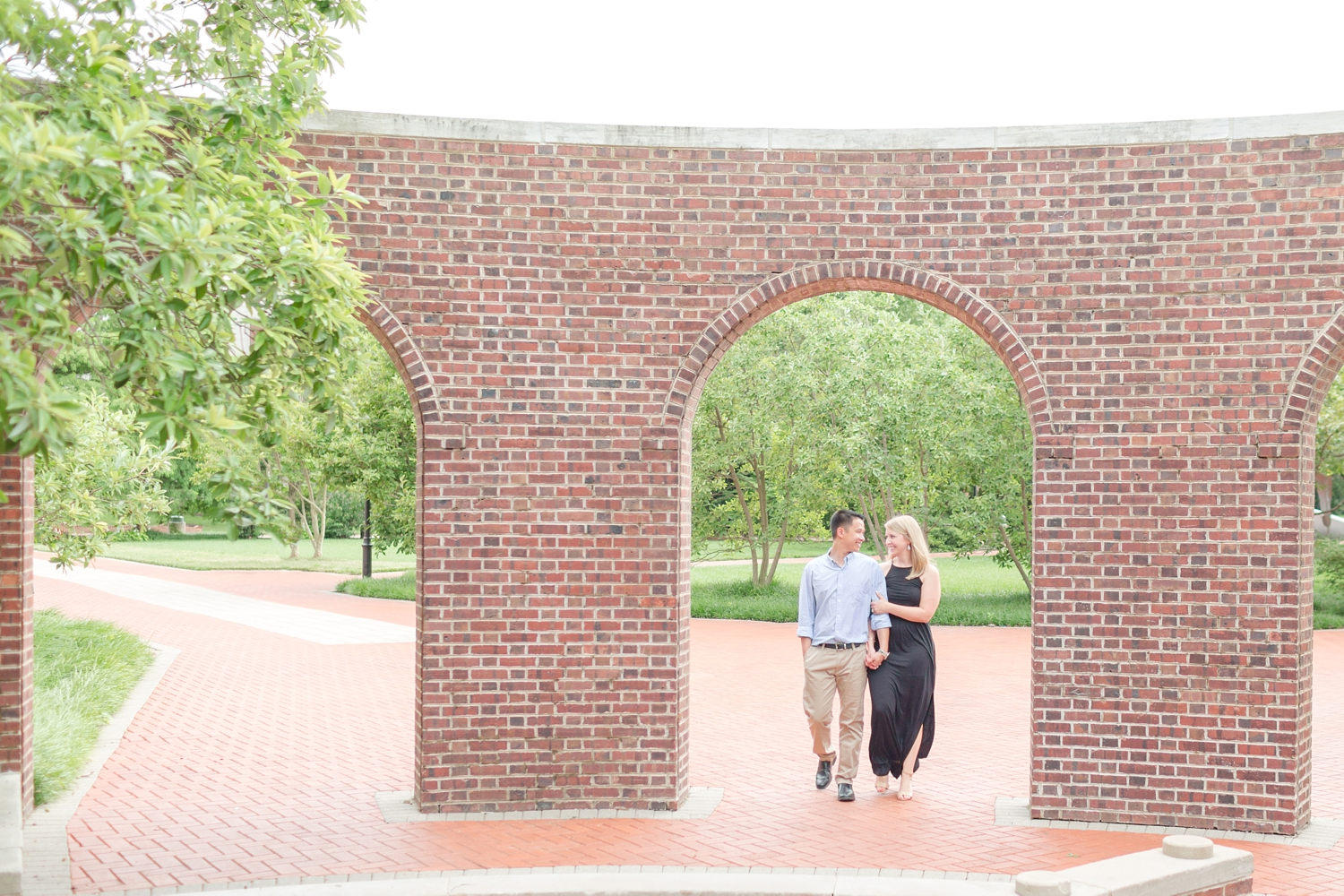 The kissing arches!!