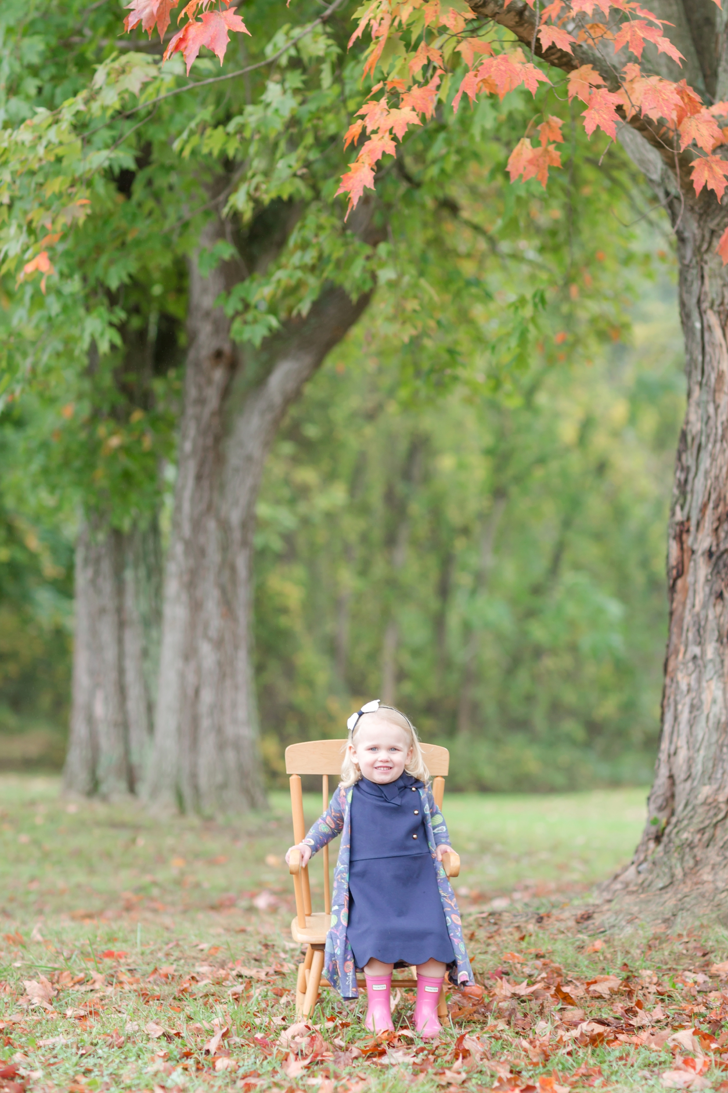 Sadie wanted some pictures in the rocking chair too!