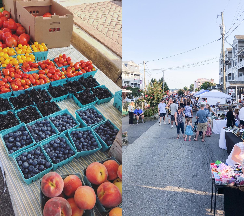 Loved the farmer's market!