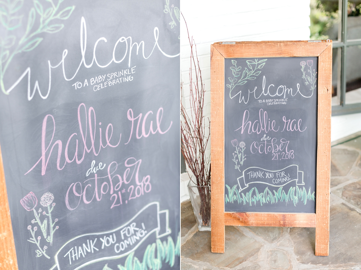 Kate, you are so talented with your calligraphy! Love this sign!