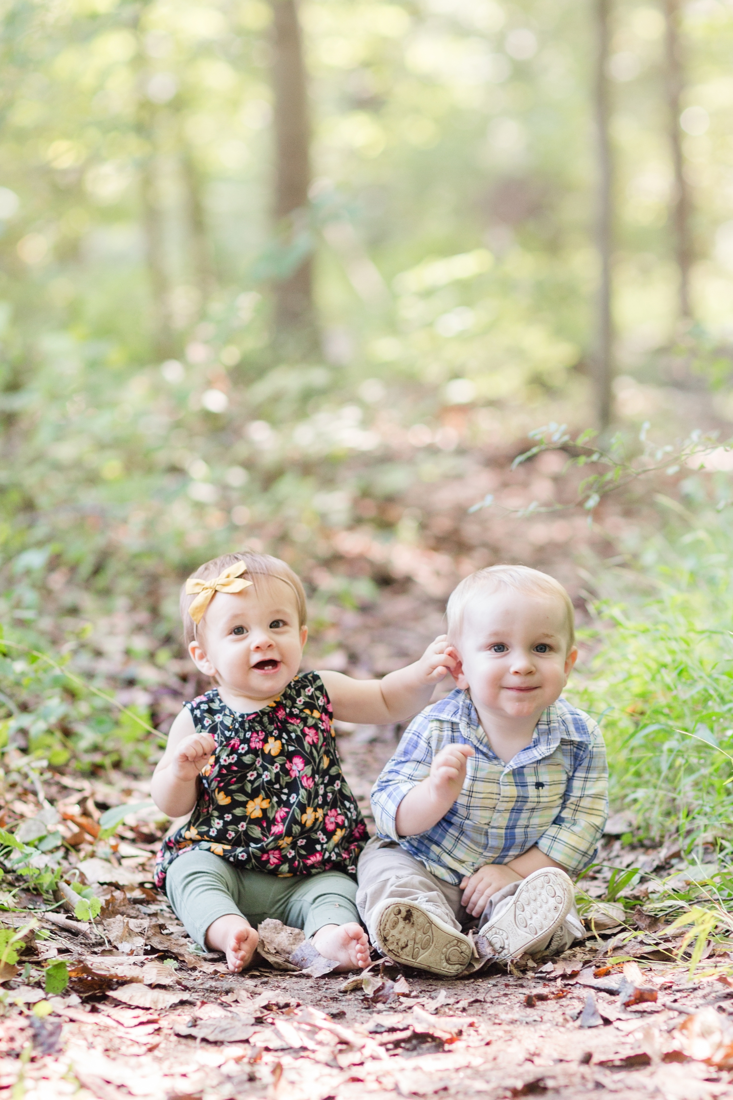 How cute are these cousins?!
