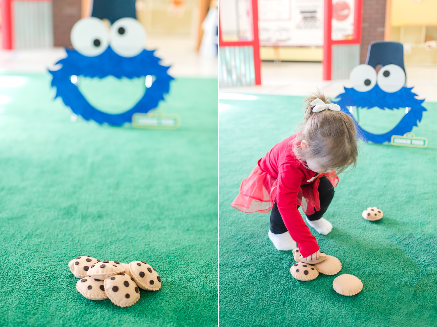 We loved this cookie toss! Thank you,   Little Brinklings  . We hope to use it this summer in the backyard!