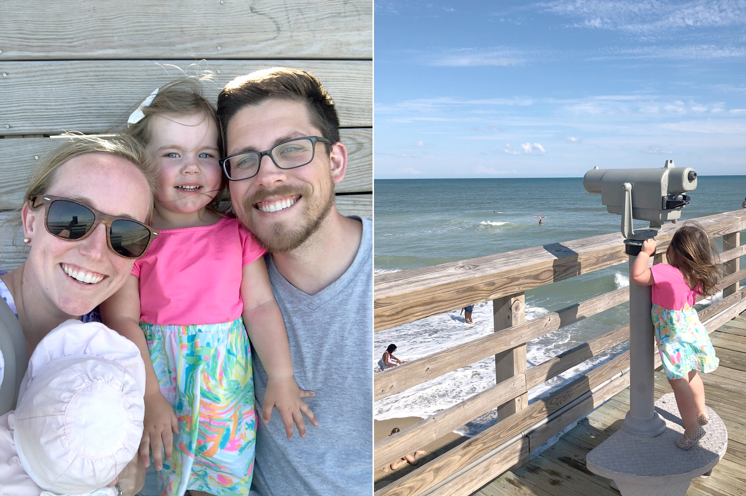 We had to visit the pier!