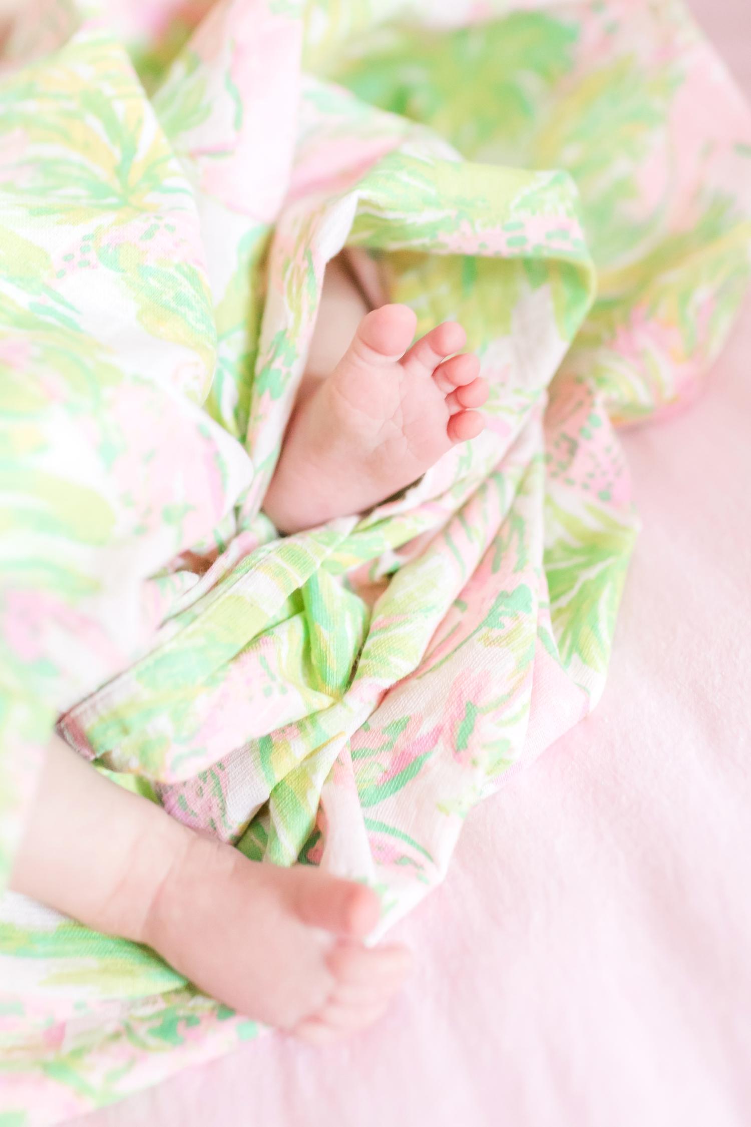 Teeny tiny toes.