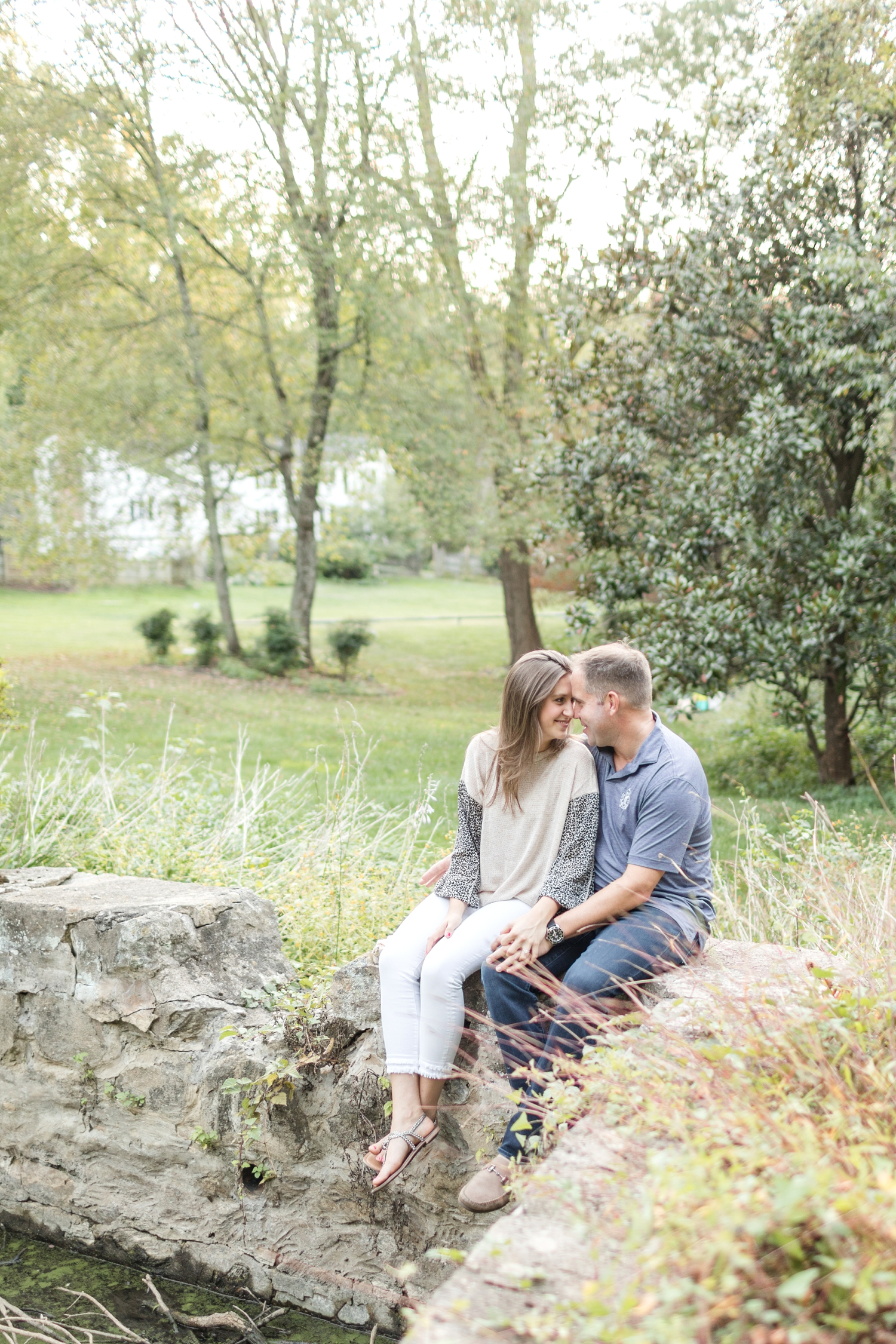 Loved taking photos in their backyard!