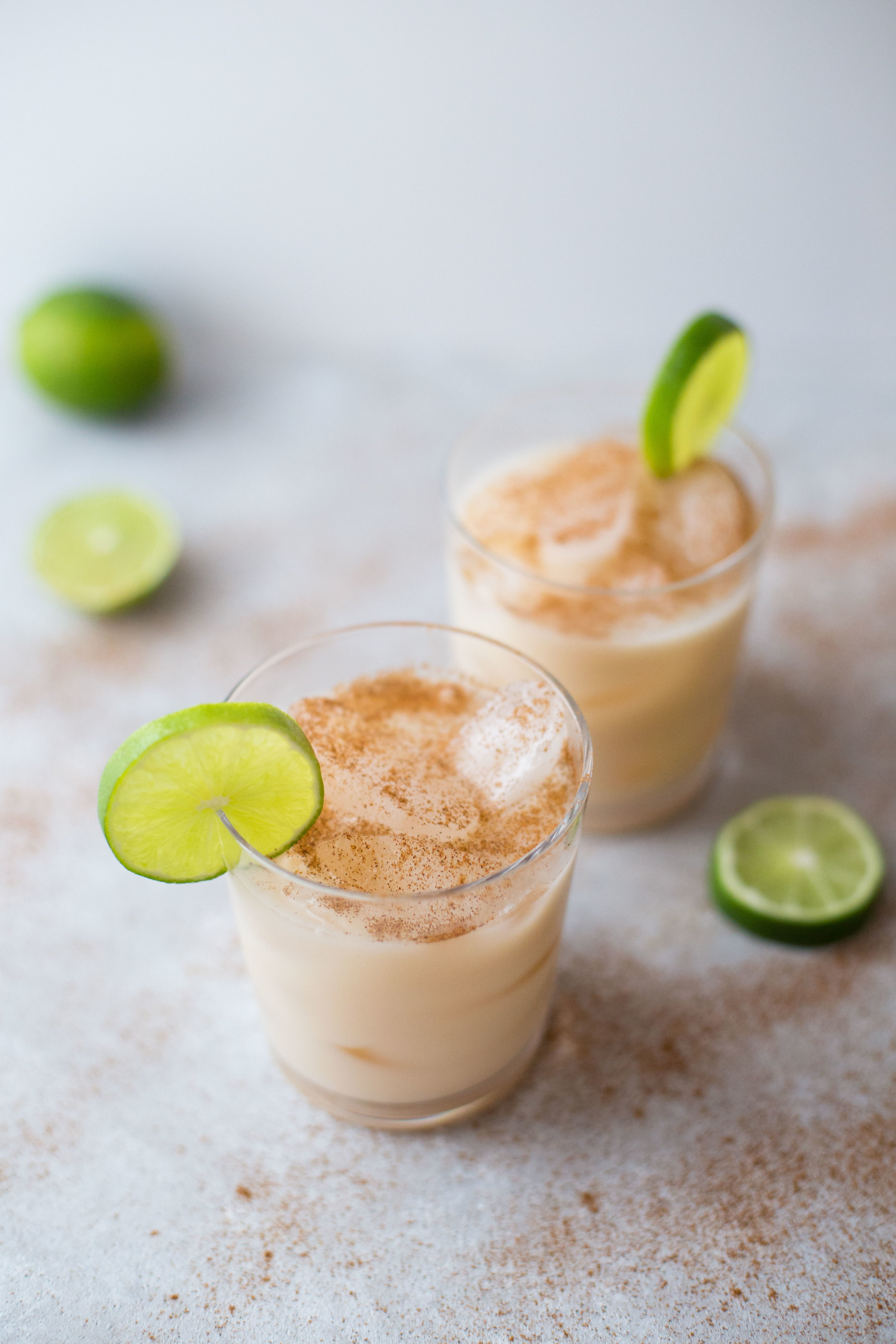 This recipe for horchata spiked with tequila will get your next party started.