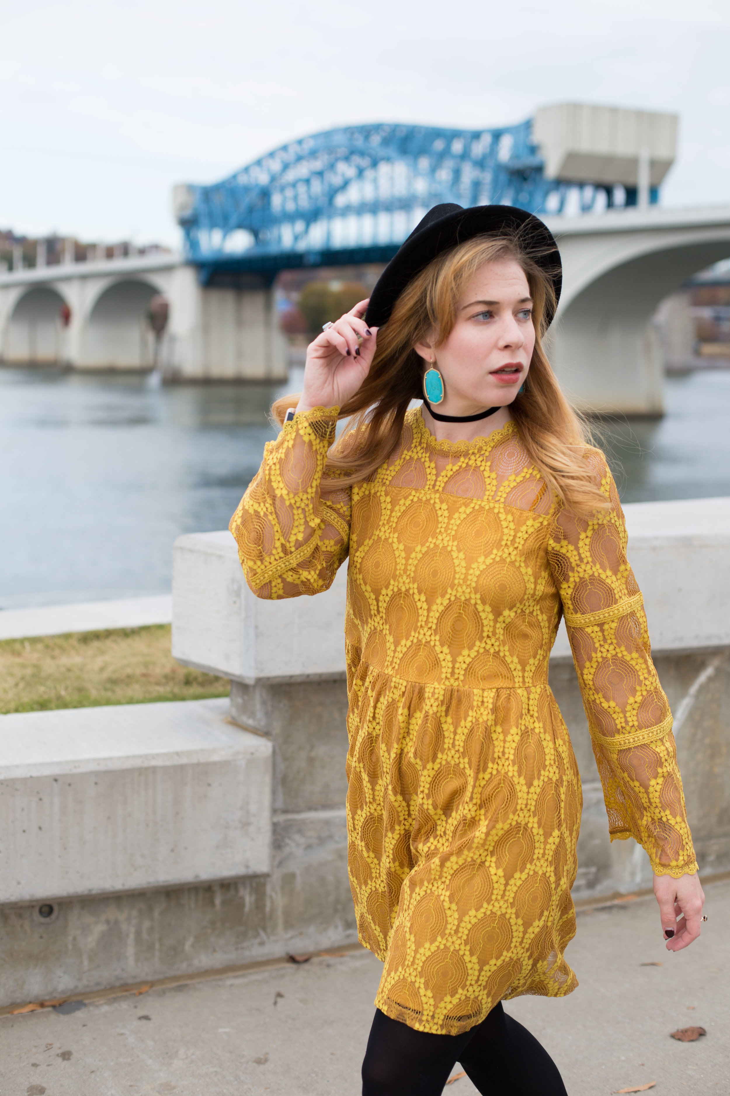 This yellow dress looks like a pricy statement piece, but was actually a bargain buy!