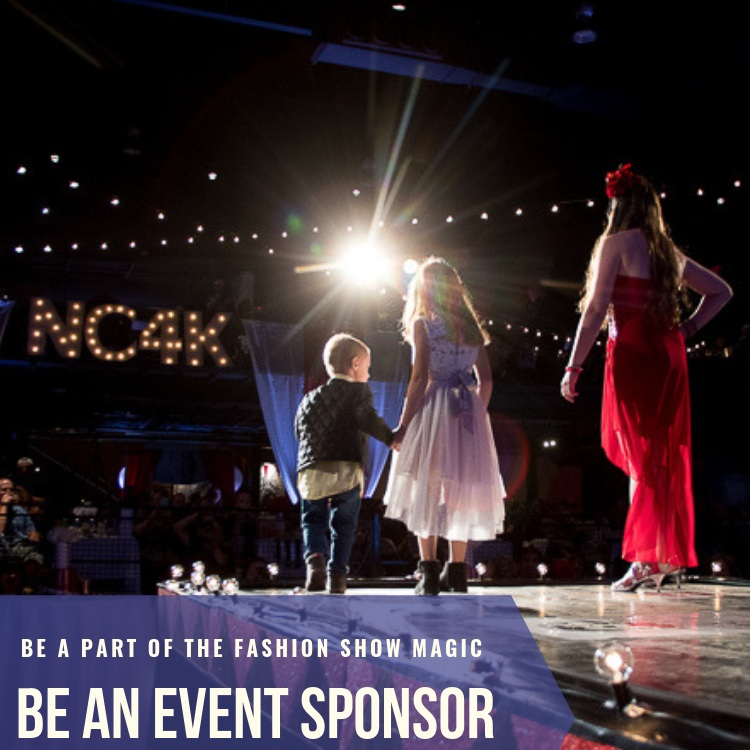 Sponsorship Opportunities - Presenting Sponsor | $10,000Glitter & Glam | $3,000Fashion Forward | $1,500