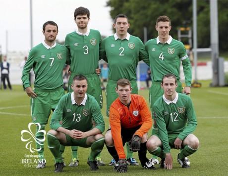 Ireland v Russia - 2015 CP Football World Championships