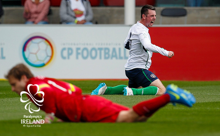 Ireland v Australia - 2015 CP Football World Championships