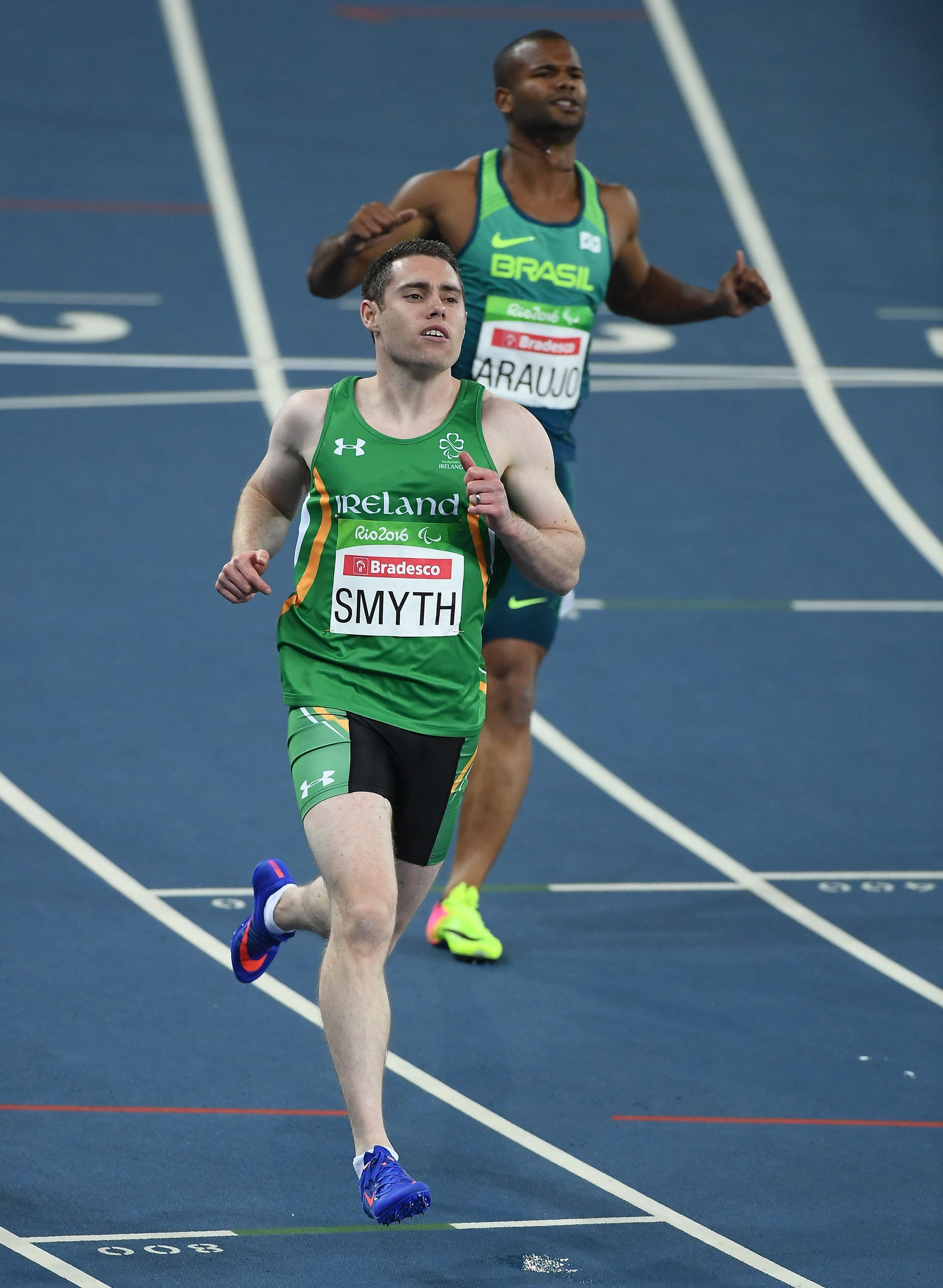 Athletics: Jason Smyth T13 100m Heats