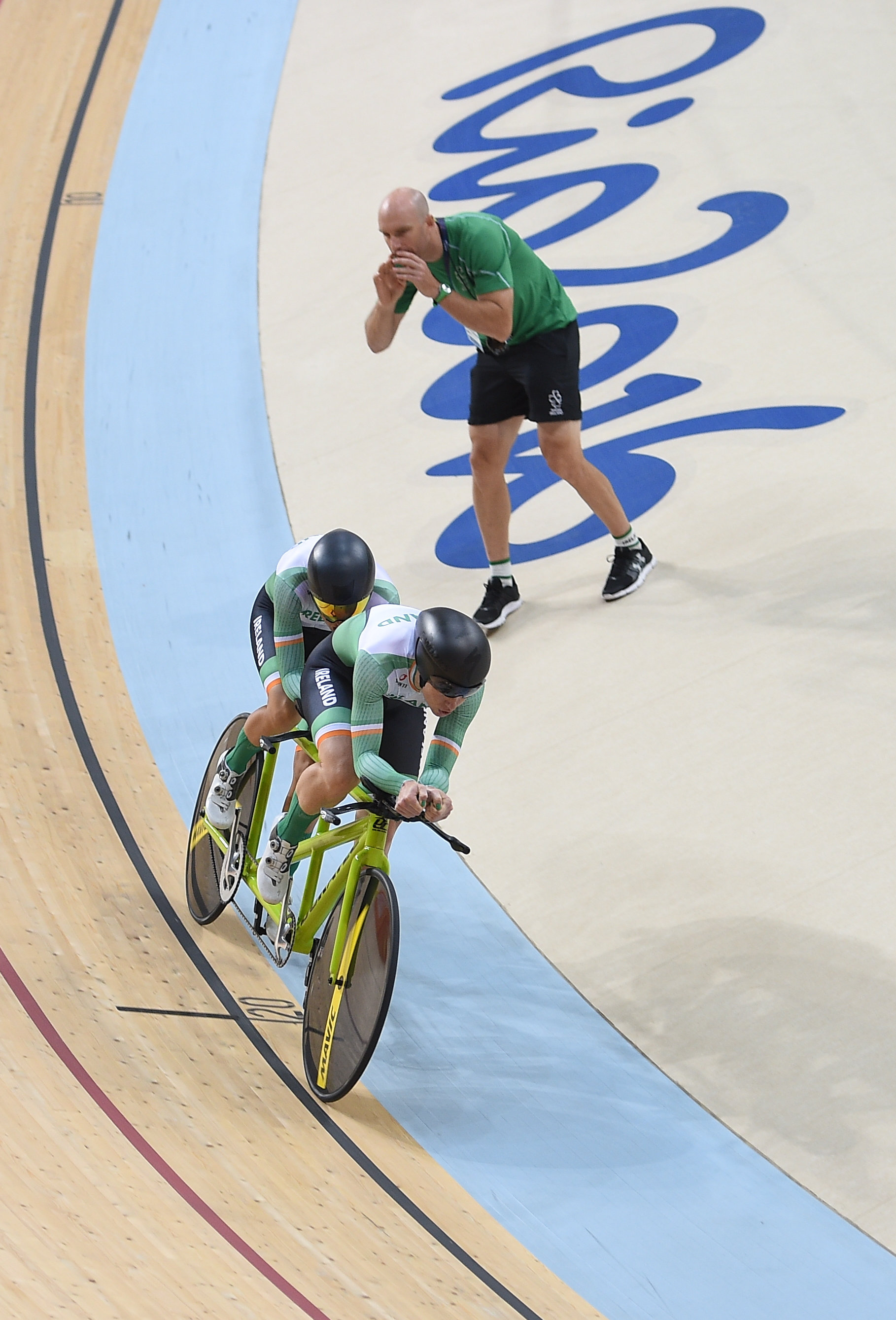Cycling: Katie George Dunlevy & Pilot Eve McCrystal in the Individual Kilo B Final