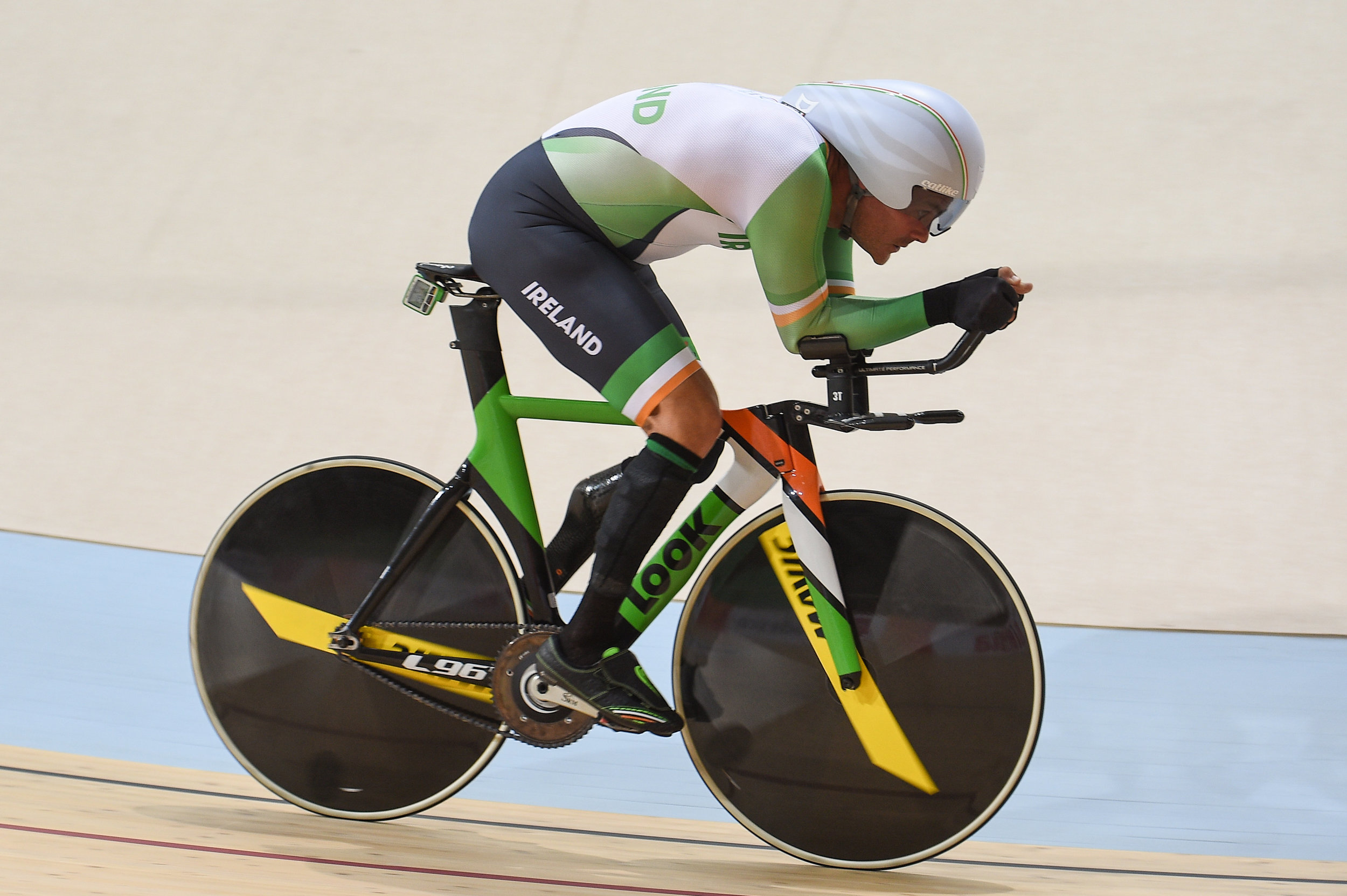 Cycling: Colin Lynch competing in the C2 Indivdual Pursuit Qualifier