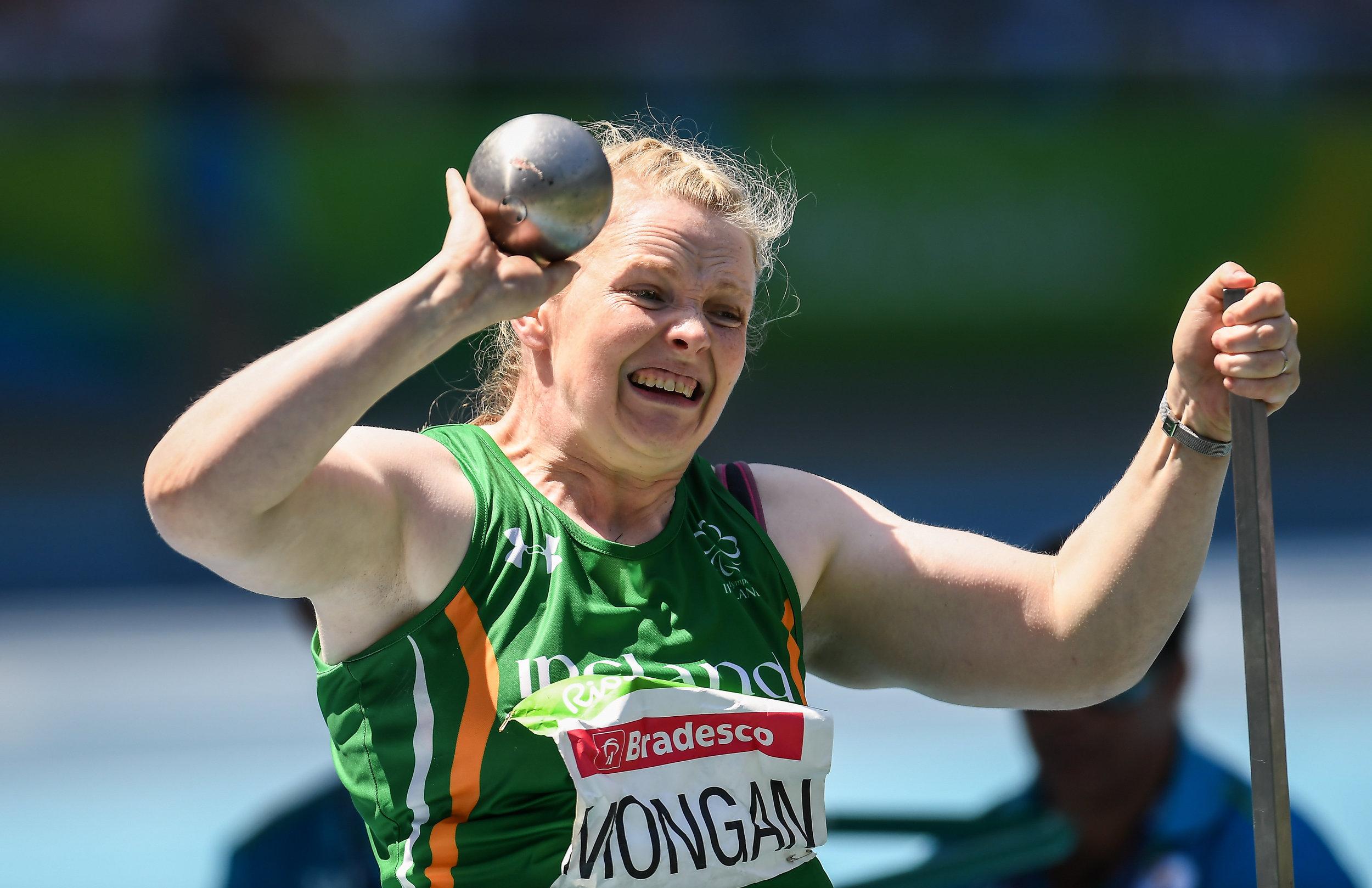 Athletics: Deirdre Mongan F53 Shot Put Final