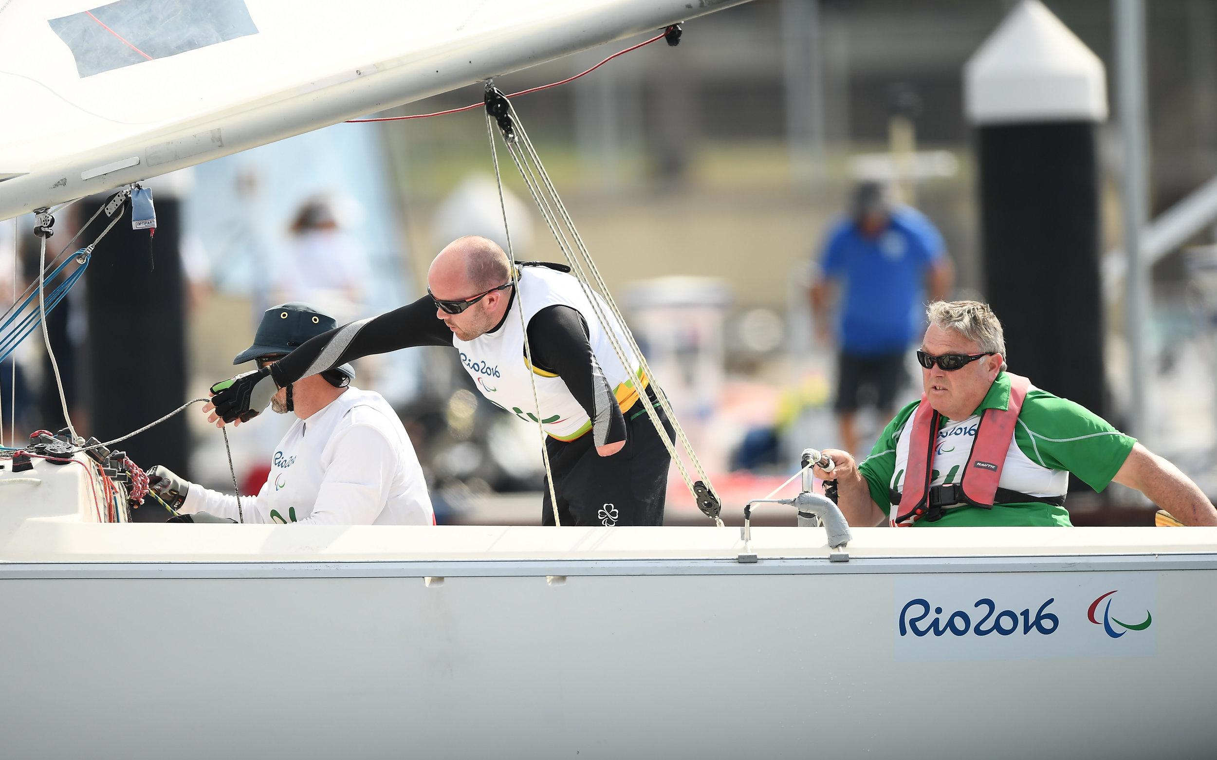 Sailing: Sonar Sailors Race 3
