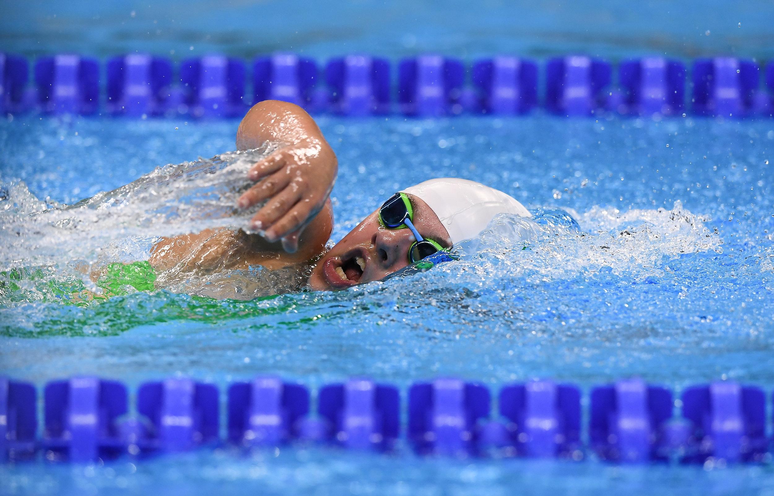 Swimming: Nicole Turner in the S6 400m FS Final
