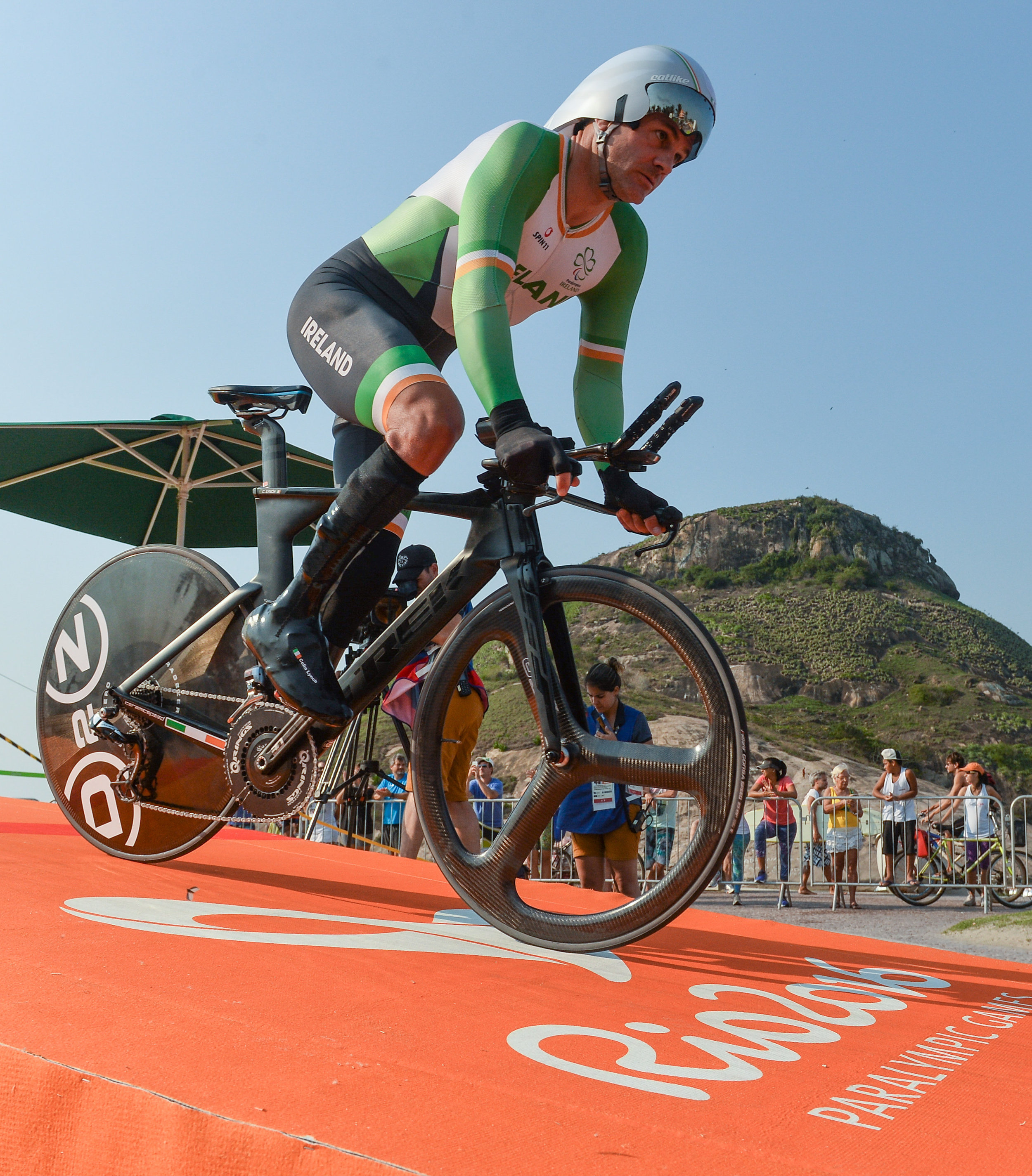 Cycling: Colin Lynch in the C2 Road Time Trial