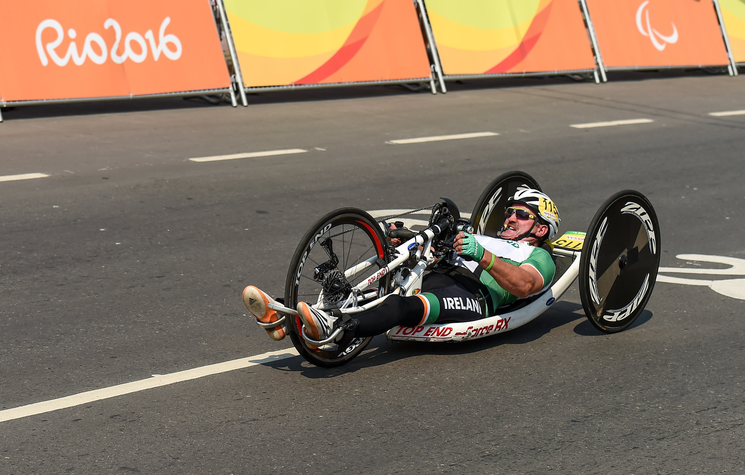 Cycling: Declan Slevin in the H3 Road Time Trial
