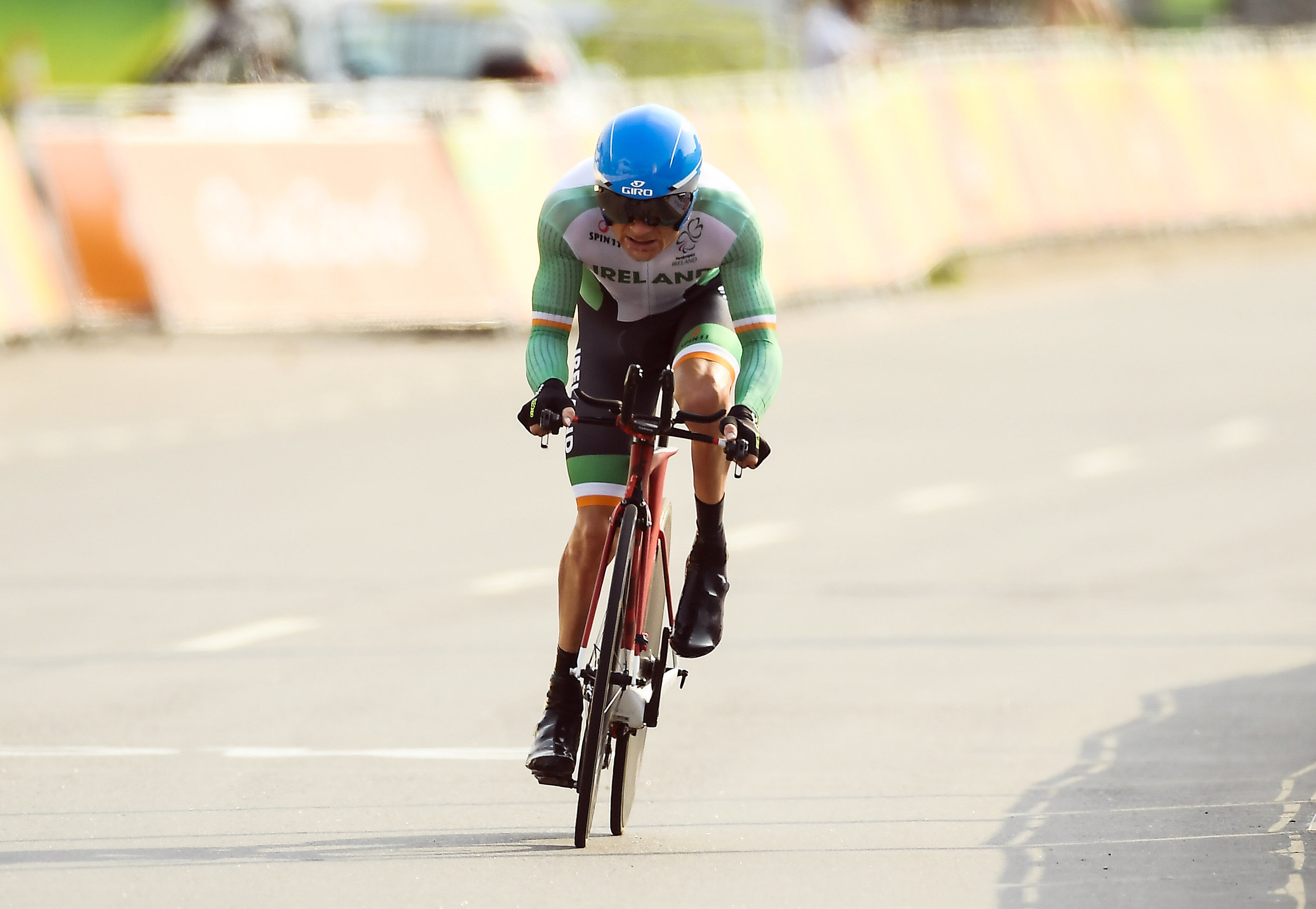 Cycling: Eoghan Clifford in the C3 Road Time Trial