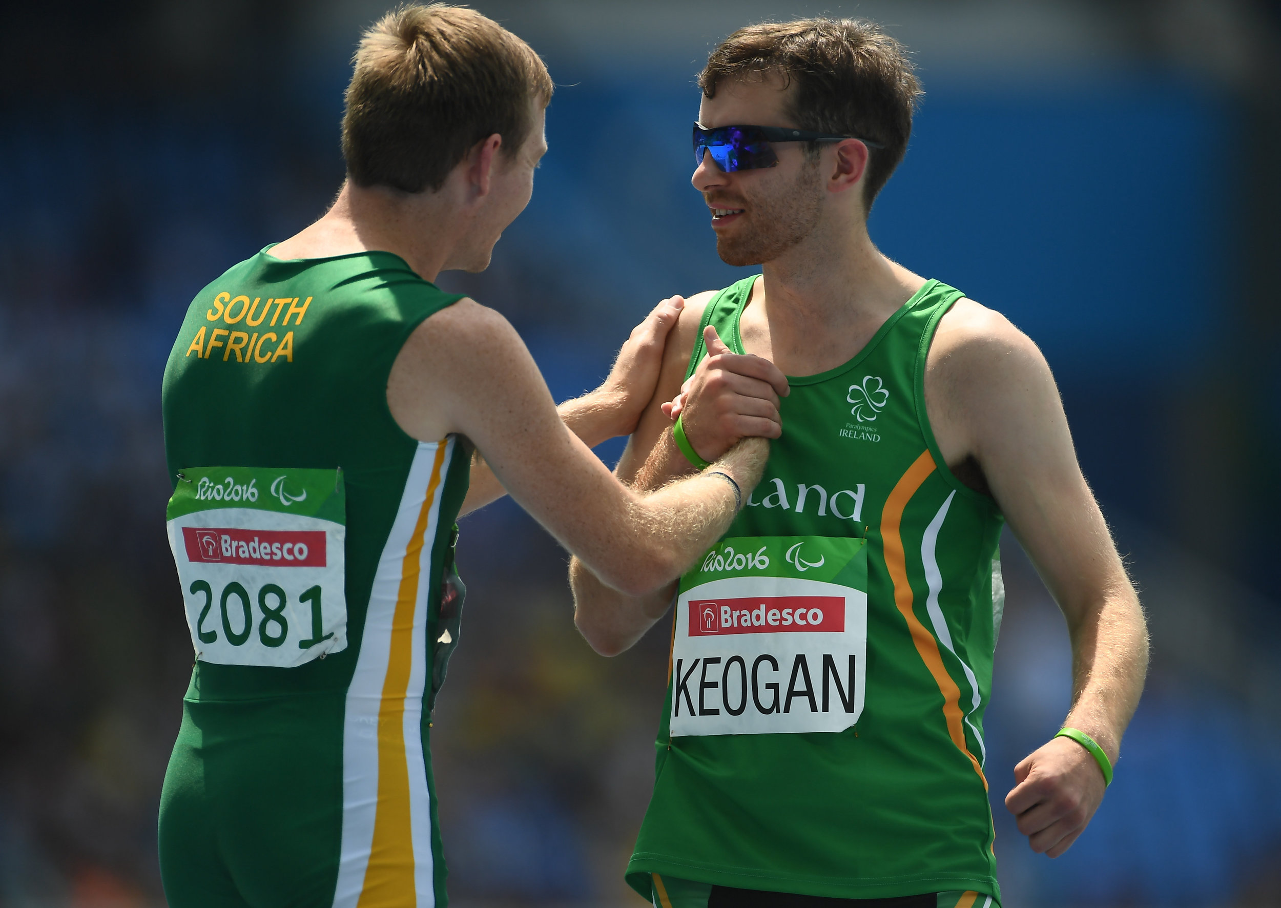 Athletics: Paul Keogan in the T37 400m Heats