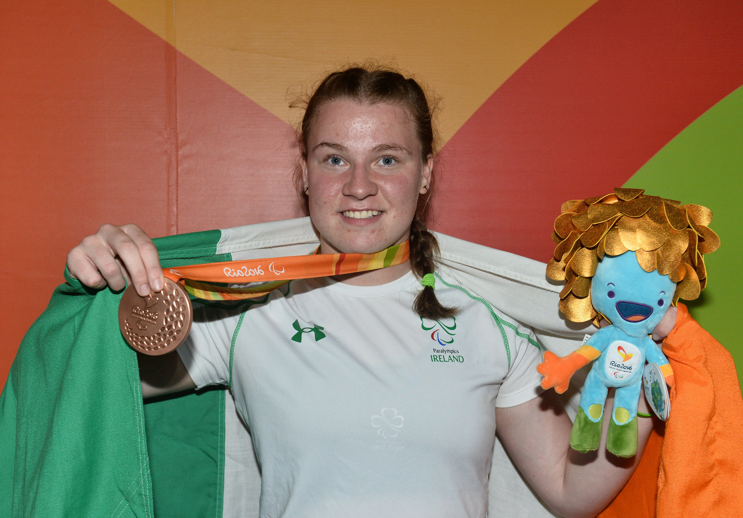 Athletics: Noelle Lenihan wins Bronze in the F38 Discus Final