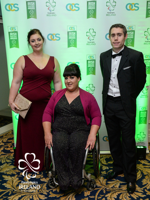 Pictured left to right, Orla Barry, Lorraine Regan, and Jason Smyth.