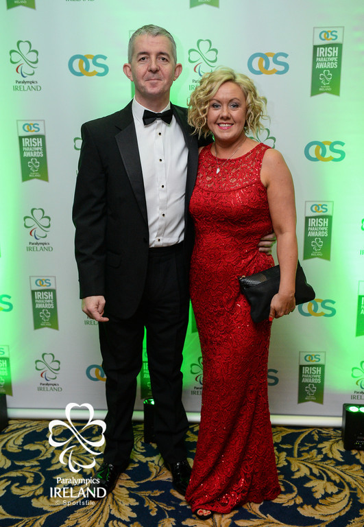 Derek and Dee Murphy, from Swords, Dublin