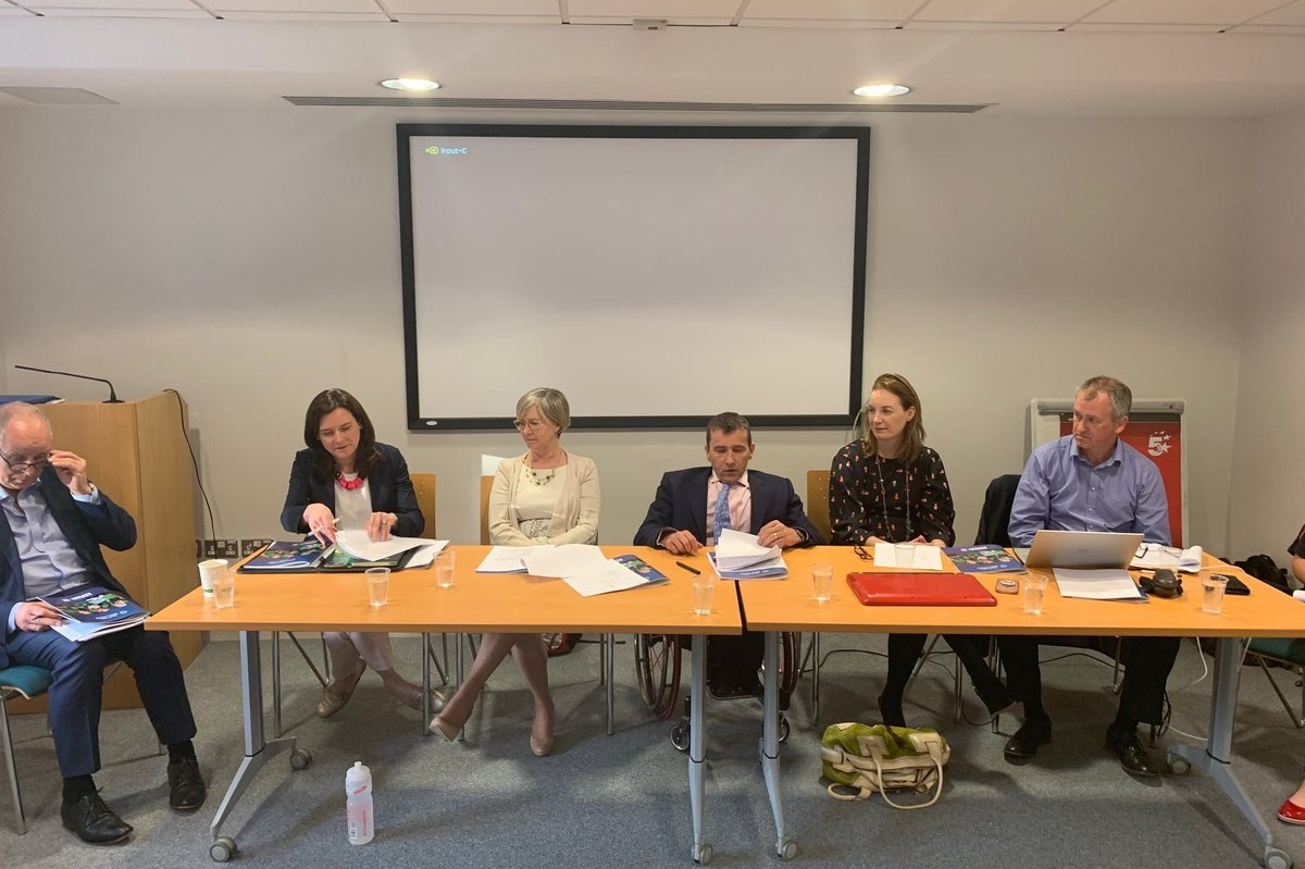 The Board of Paralympics Ireland at the 2018 AGM