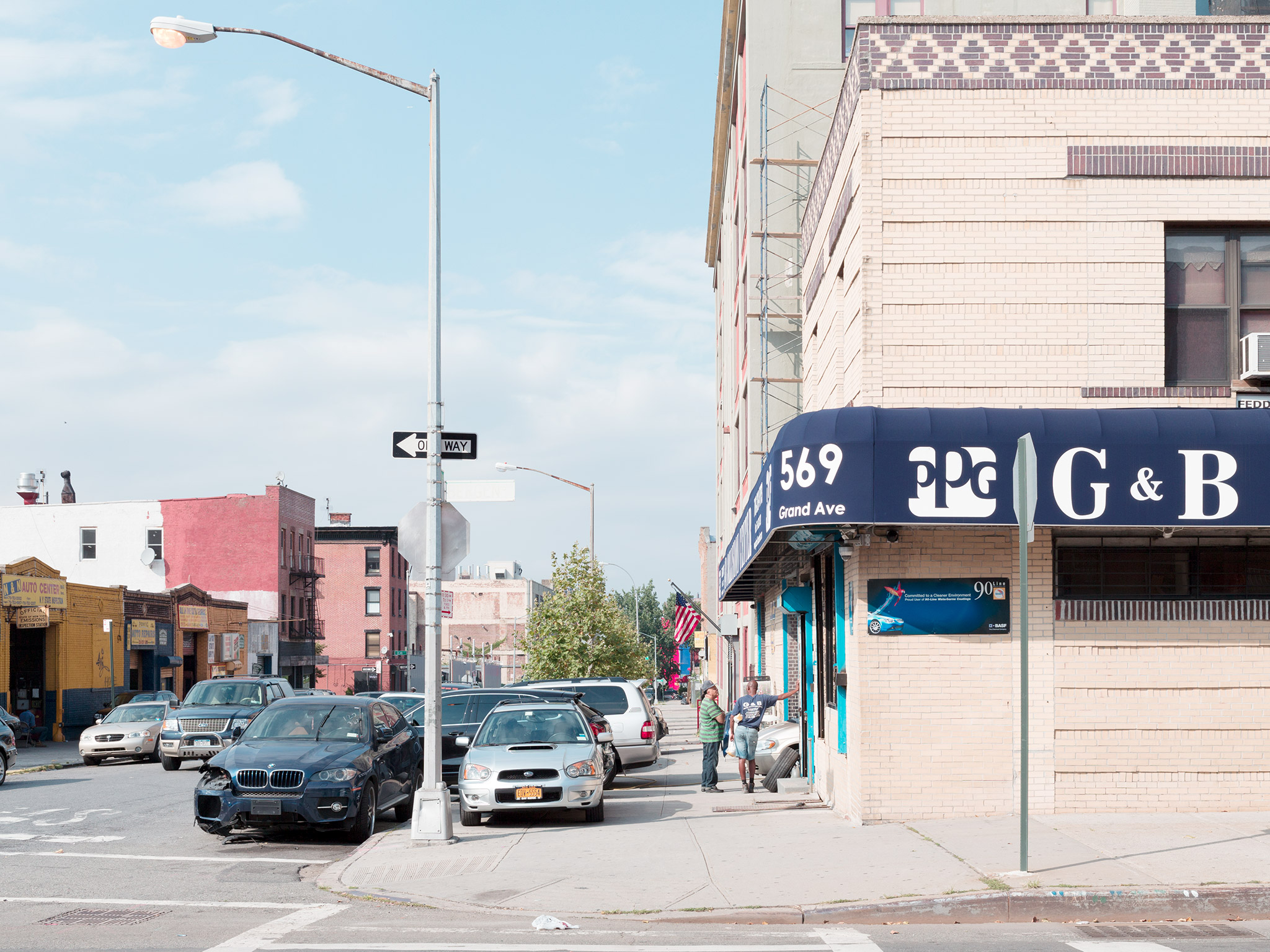 Day Lights   Crown Heights August 29th, 2013    Bergen Street and Grand Ave.   40.678127, -73.96219