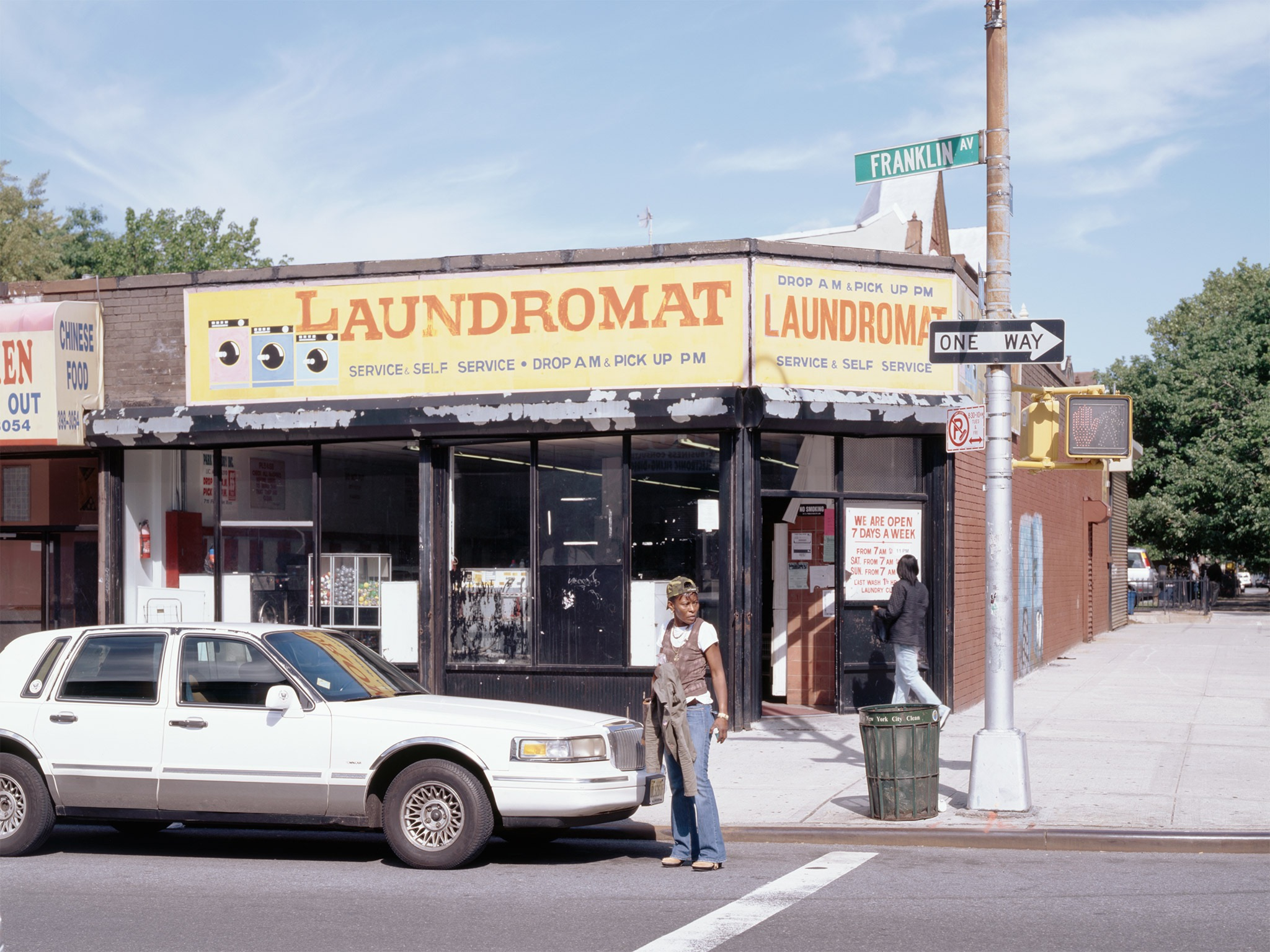 Laundromat   Prospect Heights 2006   Franklin Ave. and Park Place  40.674258, -73.956755