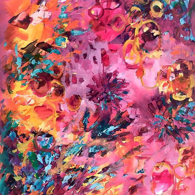 I'm loving PINKS.  What's your favourite colour? Comment below👇 ☀️ ☀️ ☀️ Have you signed up to my email list for news, chat and launches!! Link in bio @brendaharrisart . . . . . . . #inthepink #pinkpainting #passioncolourjoy #colourfulartwork #intuitiveartwork #passioncolorjoy #modernpainting #irishart #irishartist #interiordesigninspo #contemporaryartist #colourfulpainting  #interiordesignideas #irishartists  #summercolour #summerart #brendaharrisart  #ihavethisthingwithcolour #colourventures  #irishpainter #acrylicpainting #artvision #paintingprocess #artsanity #creative_art #irishgarden