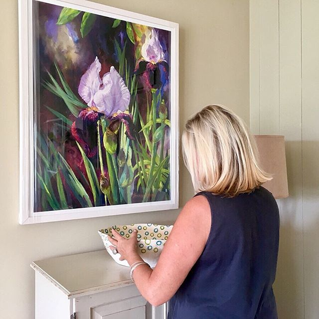 'Beautiful Iris' Print available in 2 sizes.  42cm x50cm  72cm x 90cm Link in bio @brendaharrisart . Ceramic Bowl @marylincolnardmore #marylincolnardmore . . . . #beautifuliris #iris #irisprint #artprints  #passioncolourjoy #colourfulartwork #intuitiveartwork #passioncolorjoy #modernpainting #brendaharrisart #irishpainter #irishart #irishartist #contemporaryartist #interiordesigninspo #interiordesignideas #colourfulpainting  #summercolour #summerart  #ihavethisthingwithcolour #colourventures  #artvision #artsanity #creative_art #irishgarden