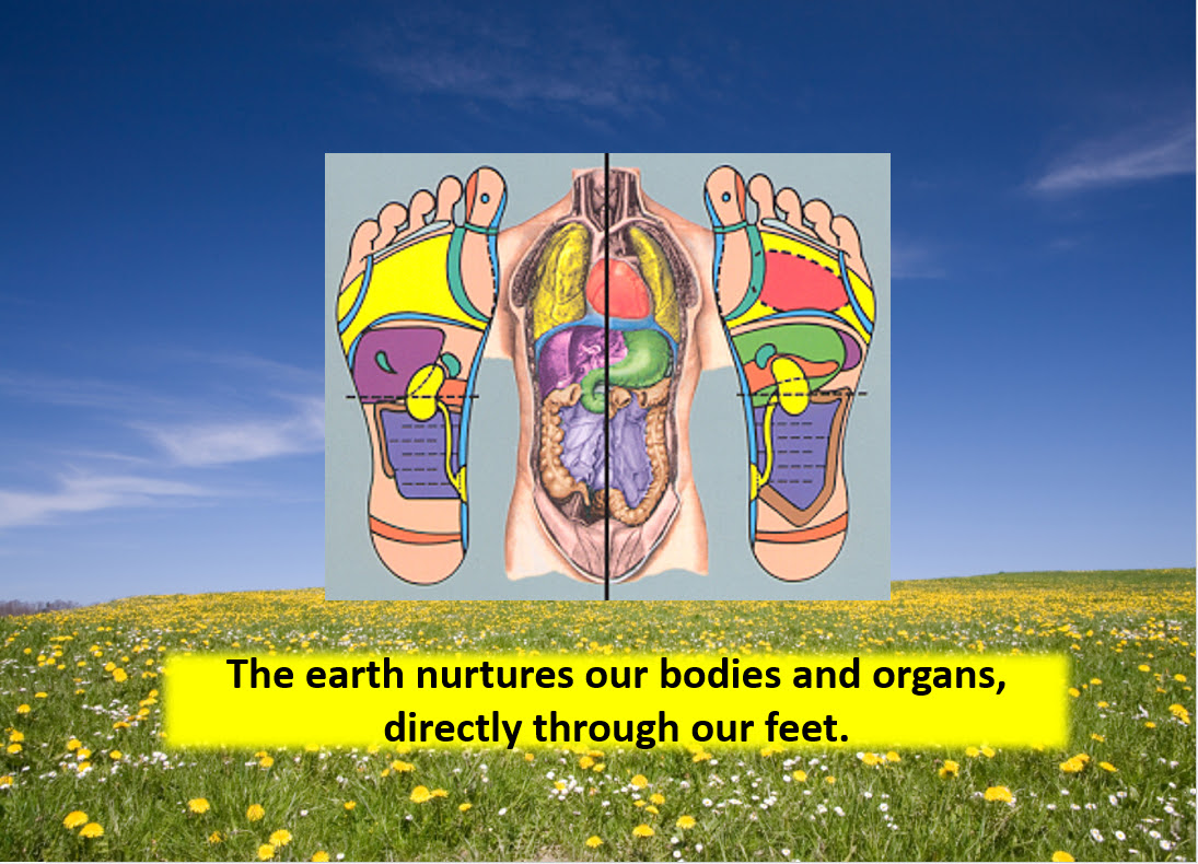 These Flip Flops are concentrated REAL Earth allowing the Nurturing Energy to reach your whole system via the 50,000 receptors on the bottom of our feet.