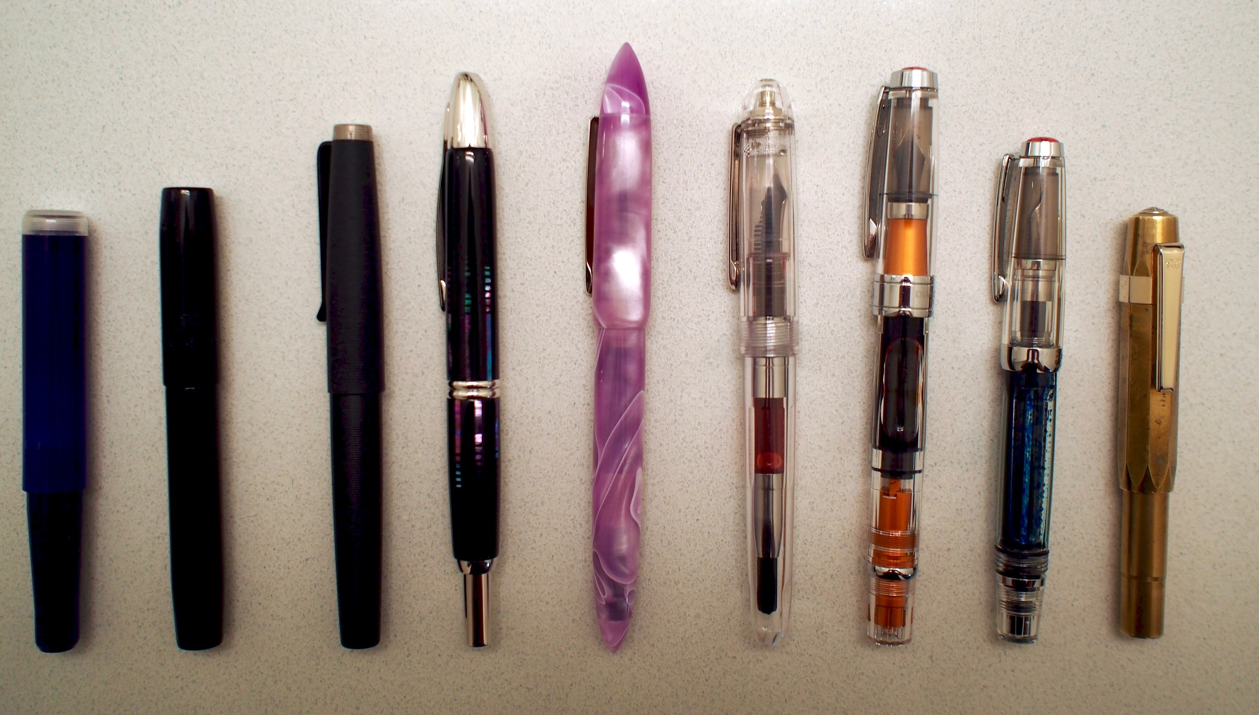 Pen Line-Up