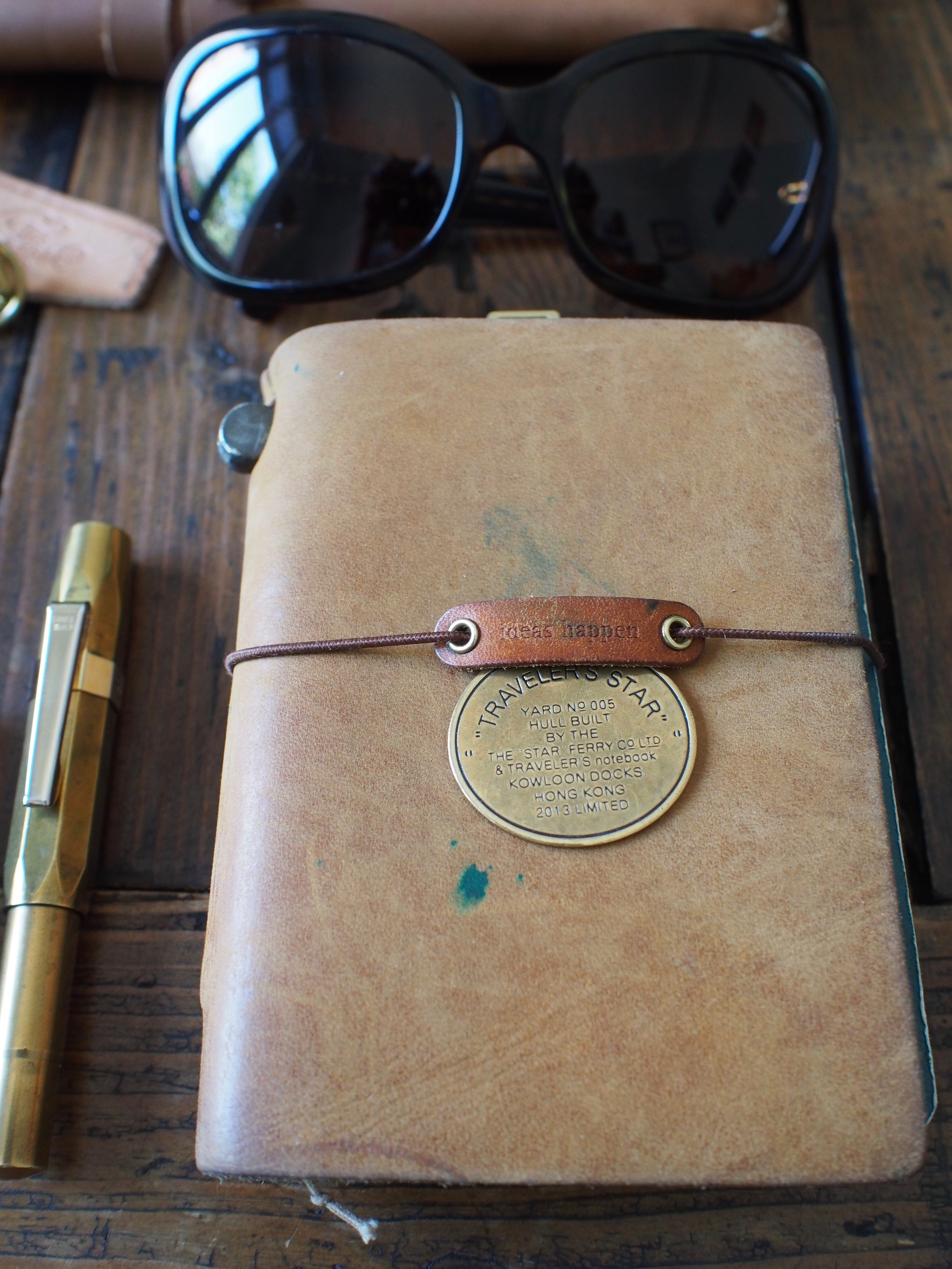 Traveller's Notebook & Baum-Kuchen Charm
