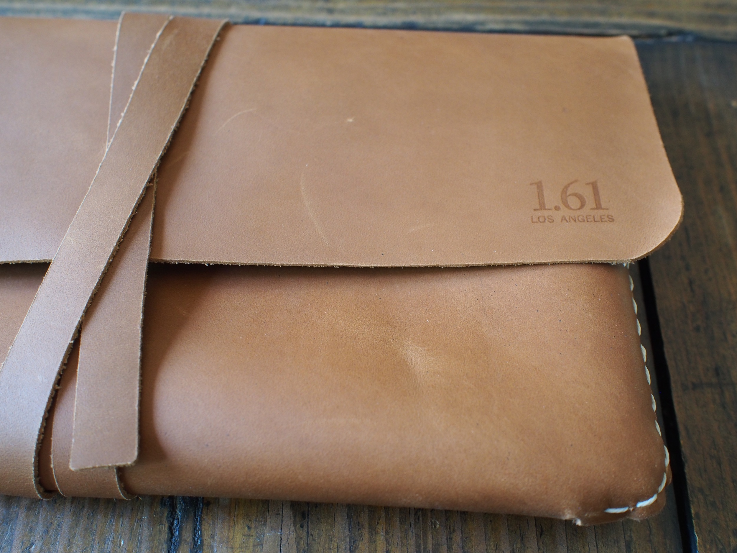 Baum-Kuchen x 1.61 Soft Goods Dimensional Leather Pouch