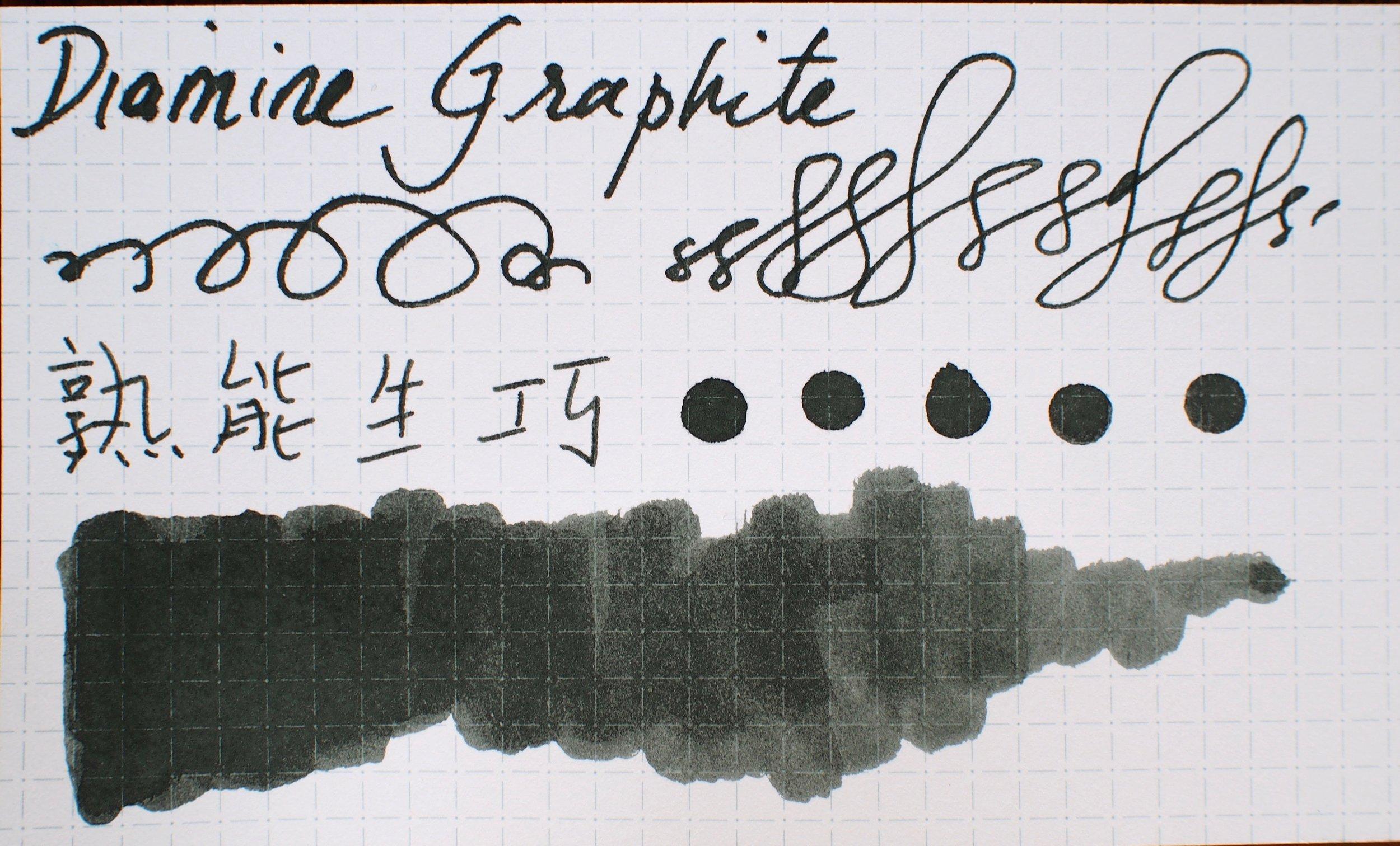 Ink Swab on Nock Co Dot Dash Notecard