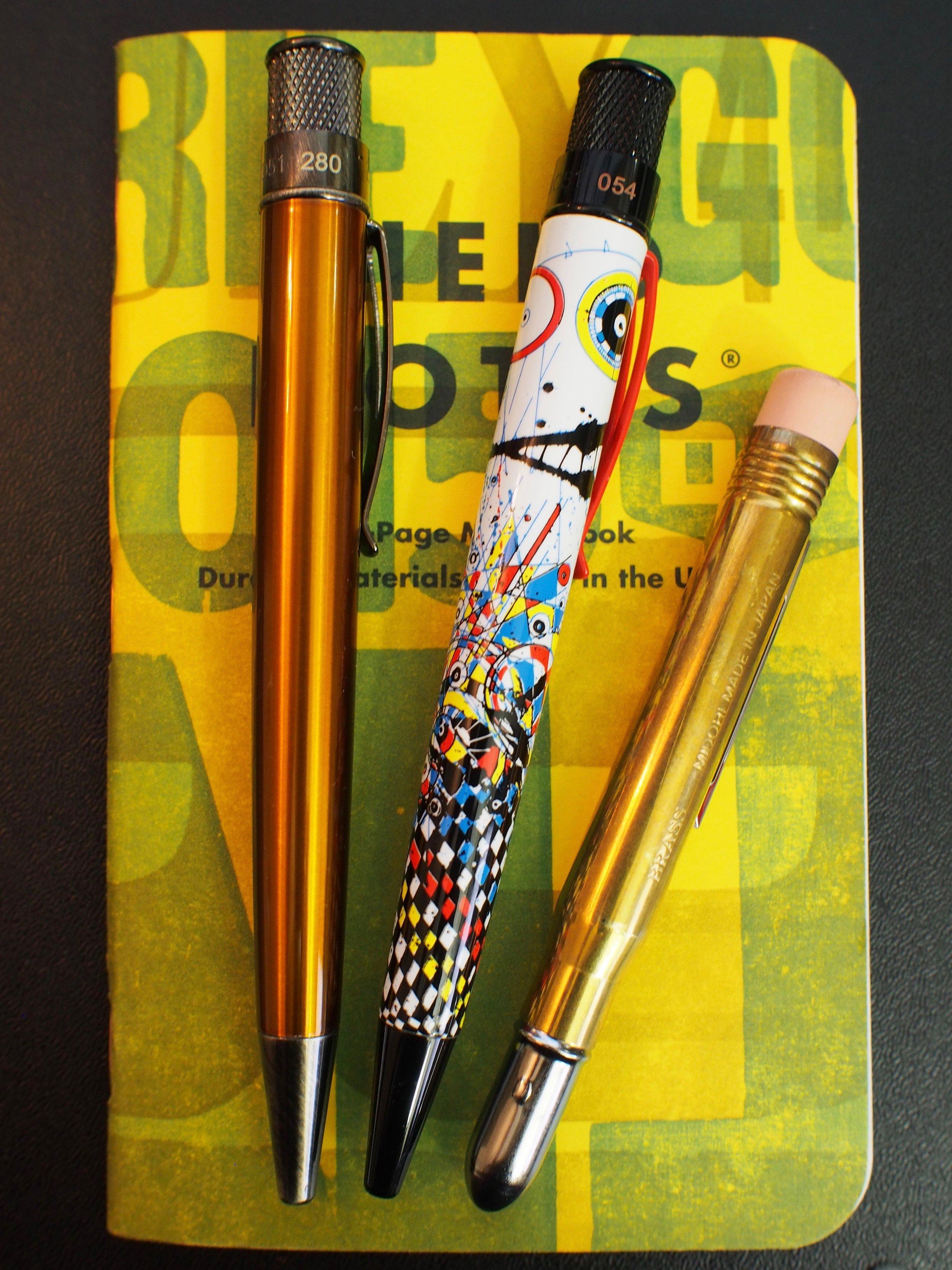 Retro 51 Pen Addict (L) and Joey Feldman (M)