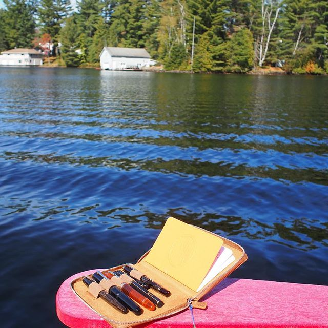 Just posted to pendorasbox.com: Wordless Wednesday: Fountain Pens on the Docks.  Link in profile. #fountainpenlife #fountainpen #penaddict #stationery #stationeryaddict #cottagelife #loveforanalogue #pendorasbox