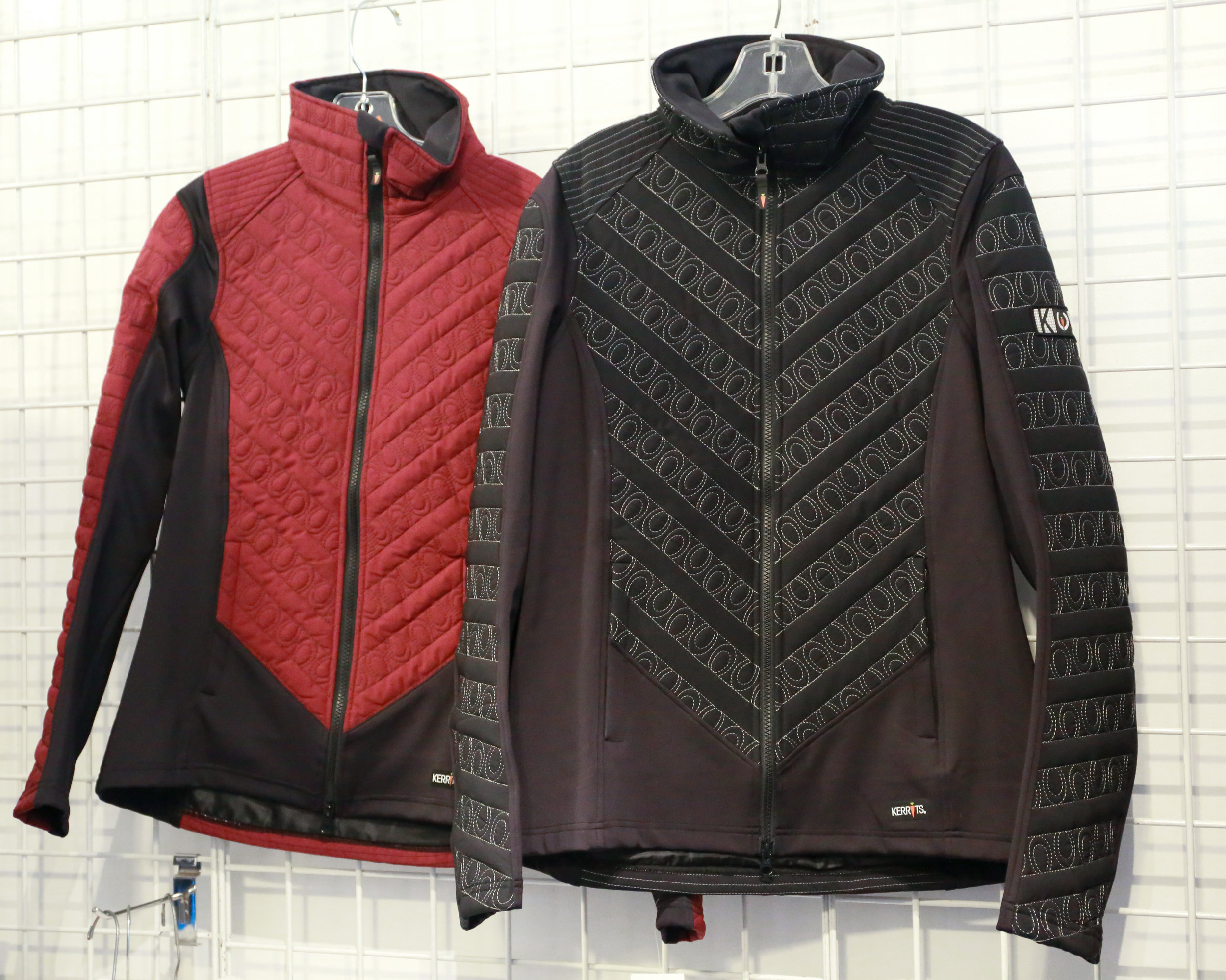 Kerrits Jacket - On Track Jacket. Runs long but classic look with attention to detail. $119.00, NOW 60$