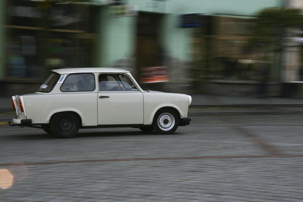Trabant Car, Gneizno, Poland
