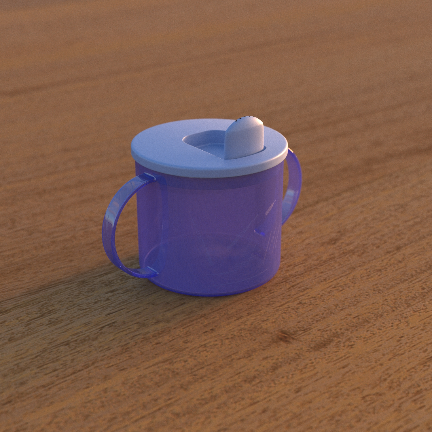 3D model of a toddler's cup
